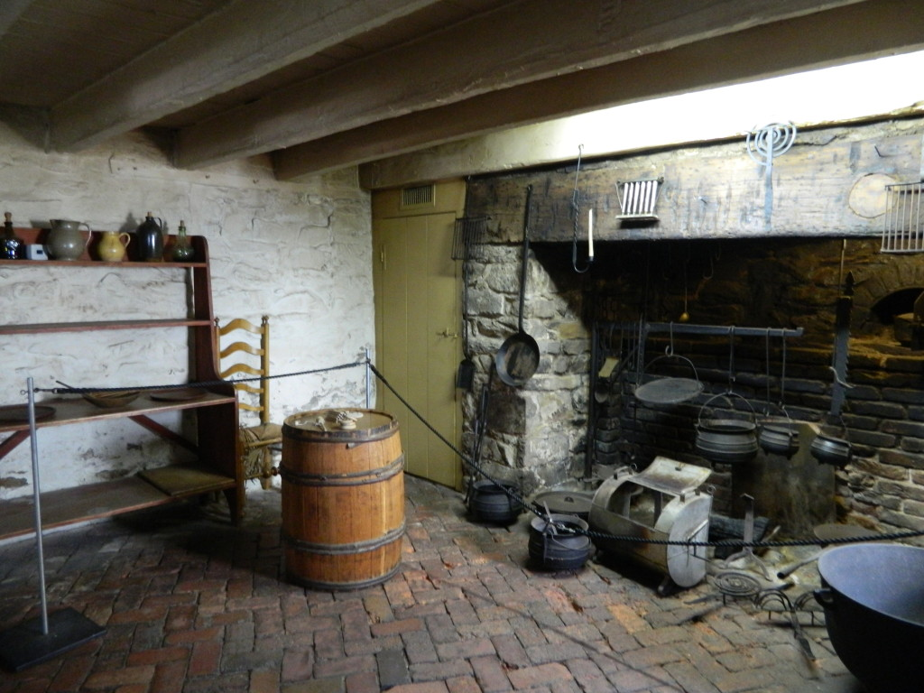 Inside the Old stone House in Georgetown