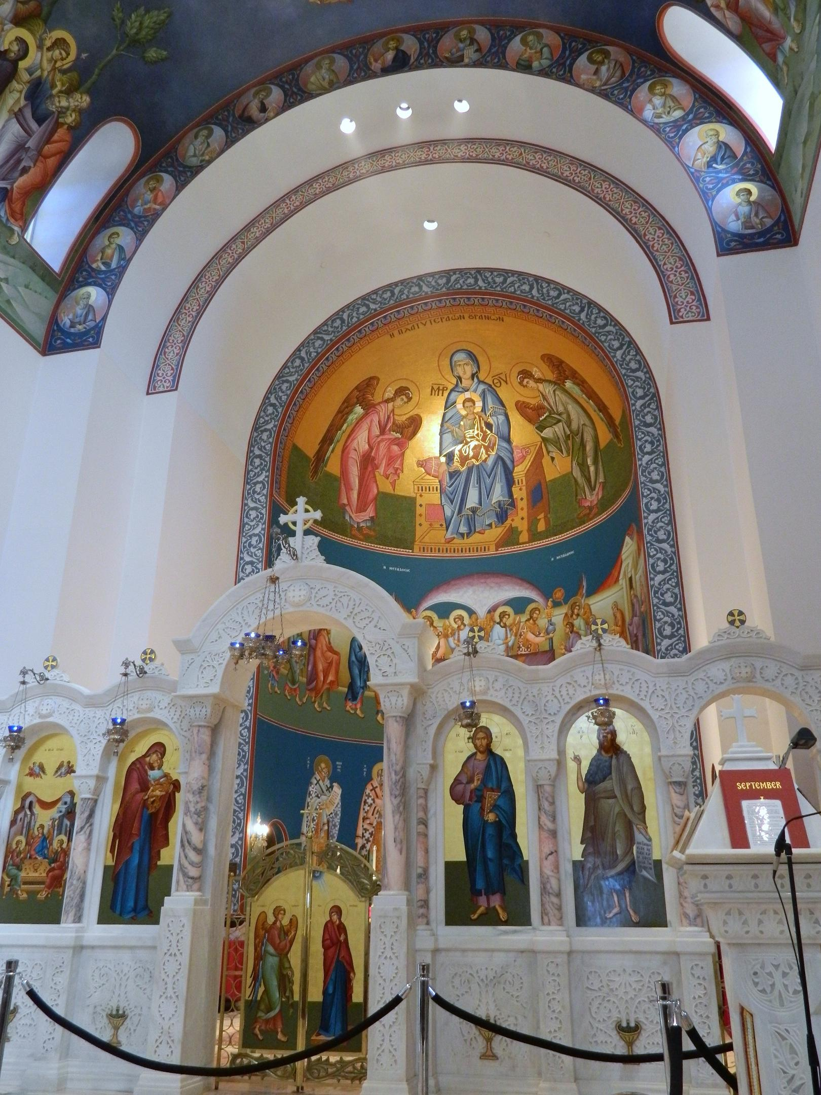 Greek Orthodox Church - Interior