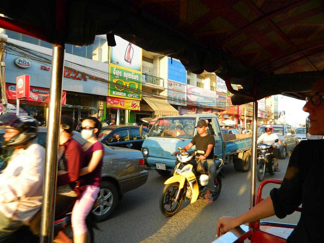 Cambodian street scene