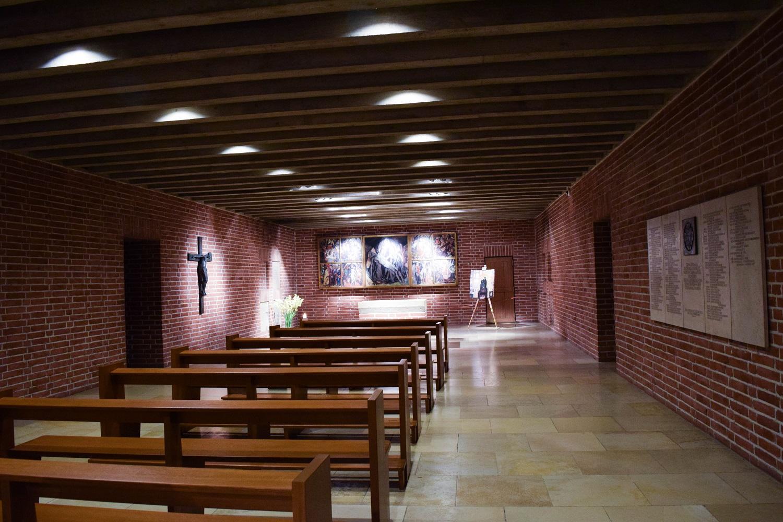 Chapel under an alter