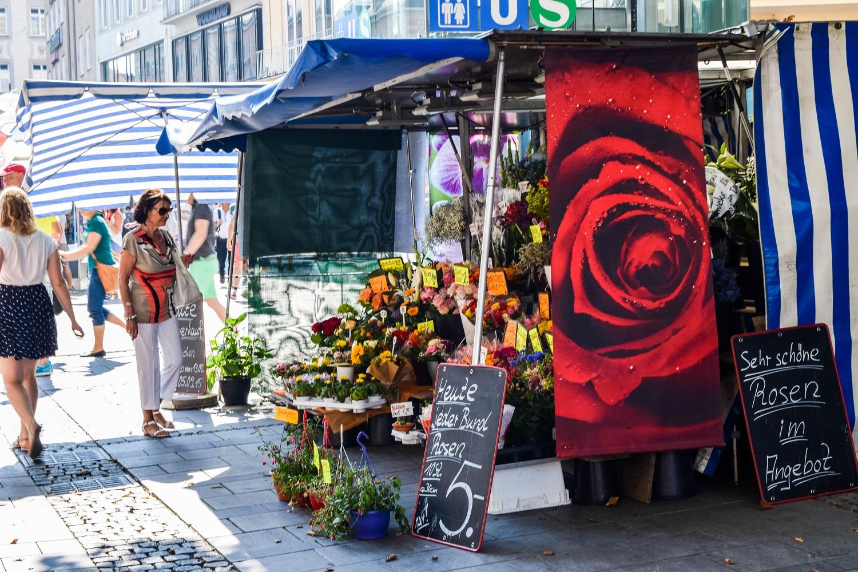 Munich Flower Vendor
