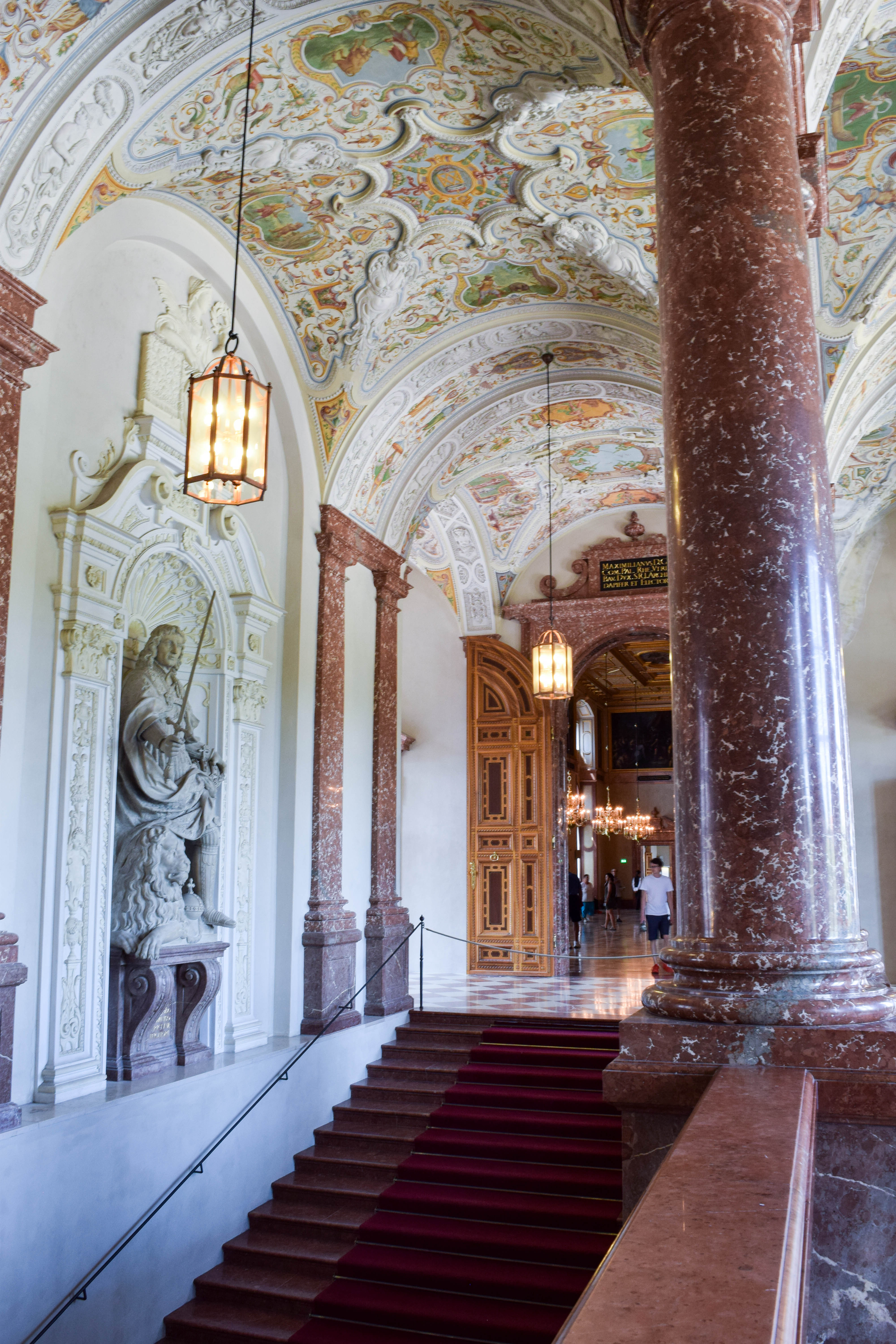 Residenz Museum Staircase