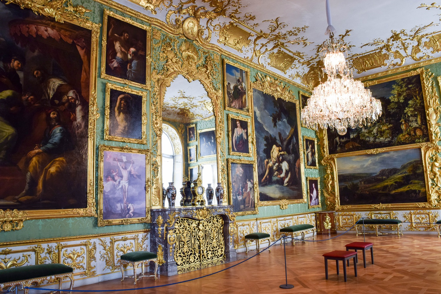 Green Room at the Residenz Museum