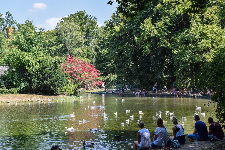 Munich English Gardens
