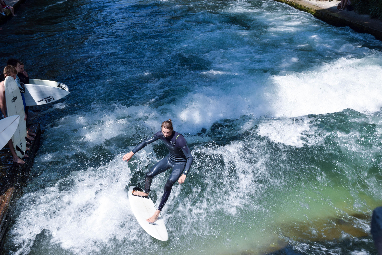English Garden Surfer