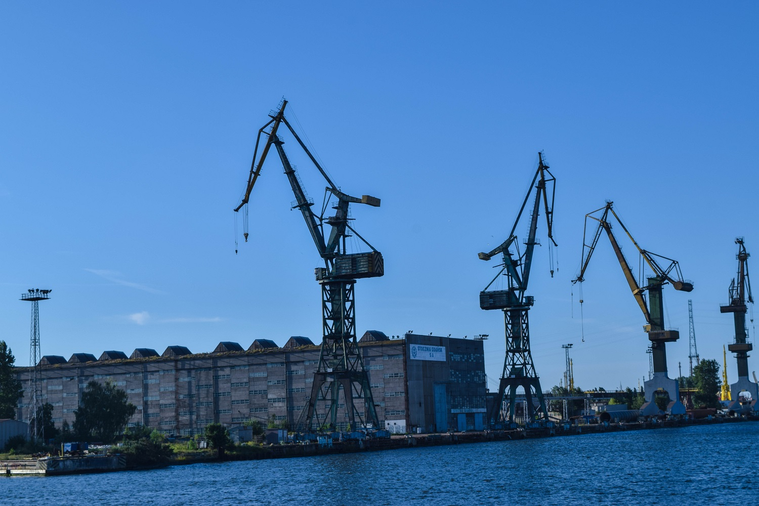 Shipyards from the Canal