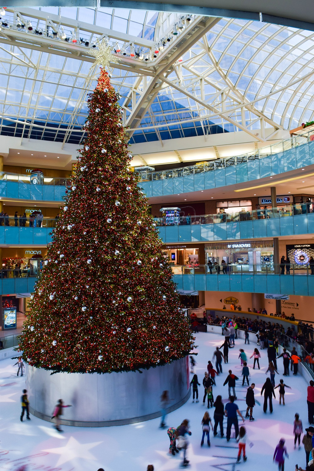 Galleria Christmas Tree
