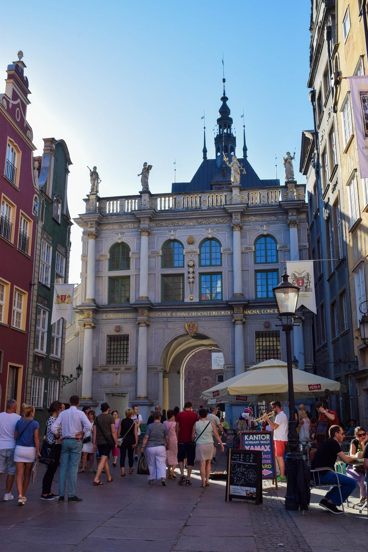 Golden Gate in Gdansk