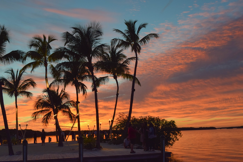 Sunset in the Keys