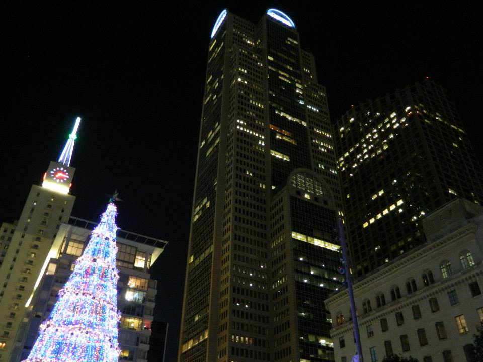 Christmas Tree and Dallas