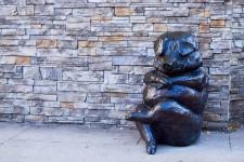 Sculpture at North Dallas Community
