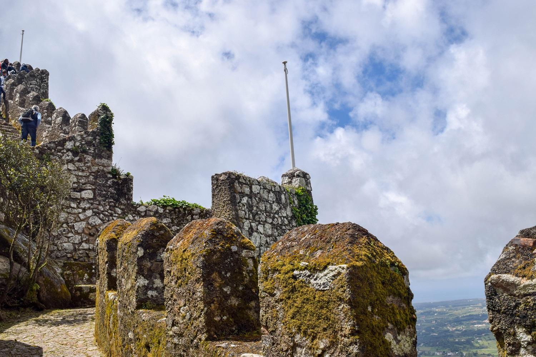 Castelo dos Mouros tower walls