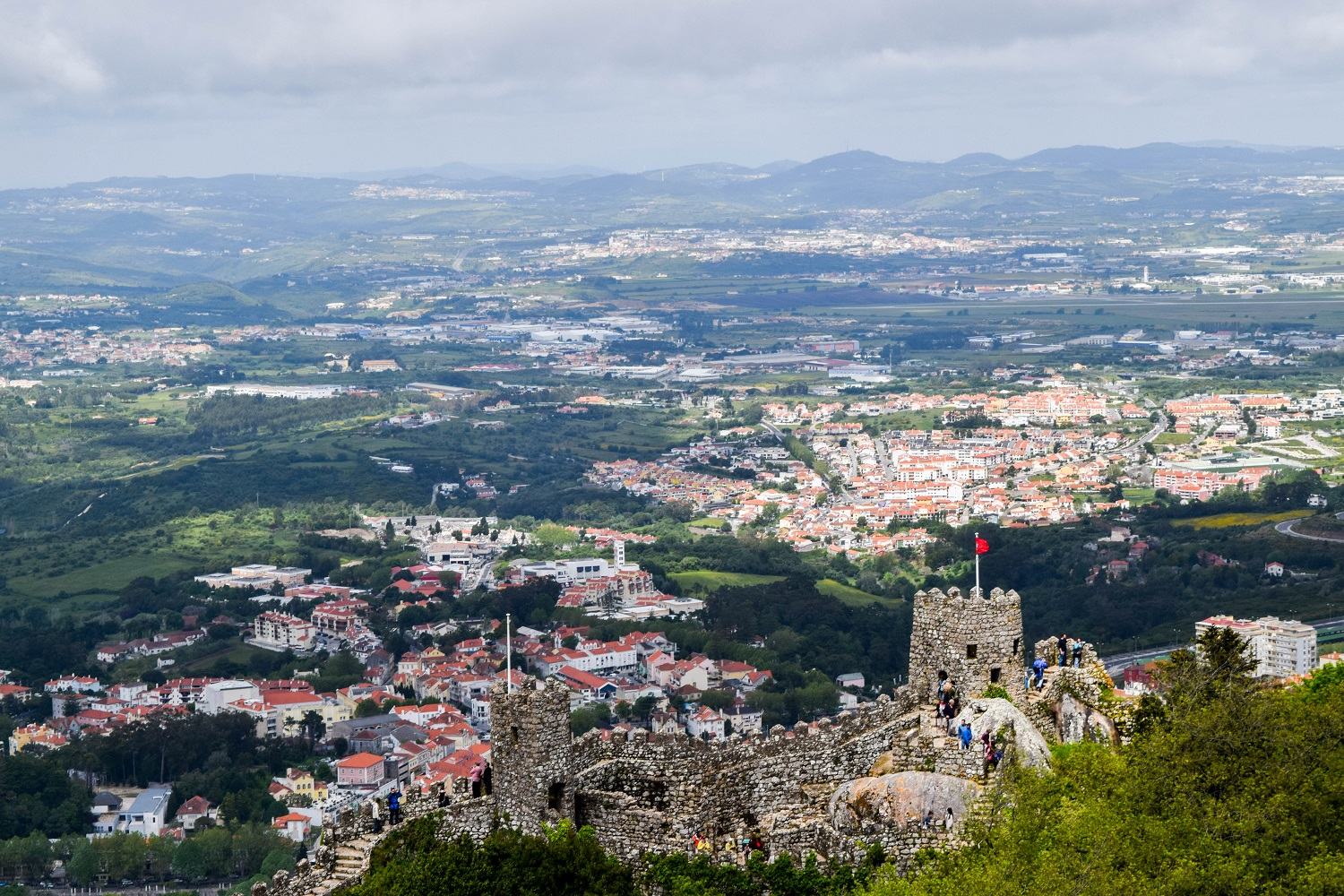 View from the Castelo dos Mouros