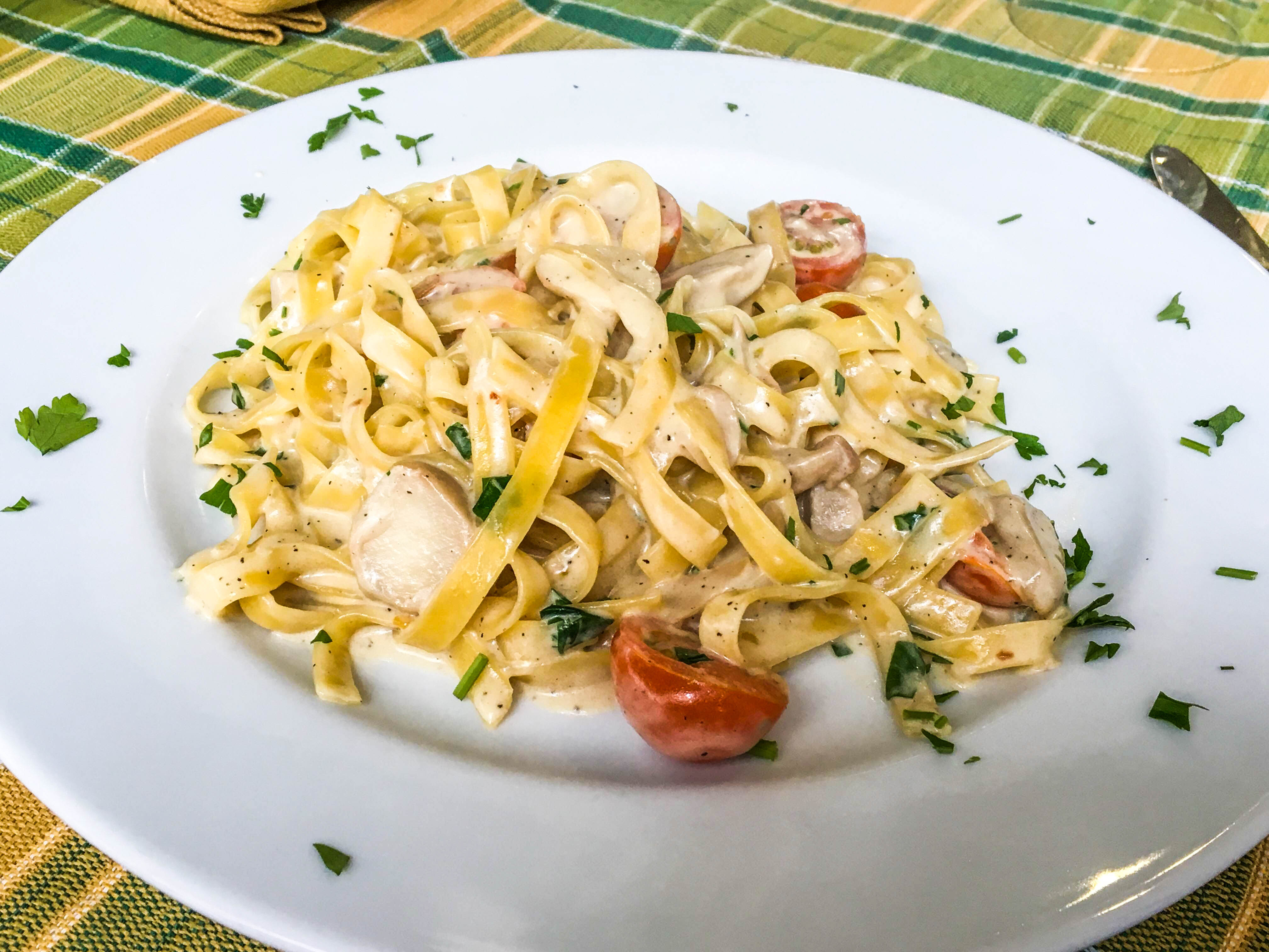 Portuguese Pasta Dinner