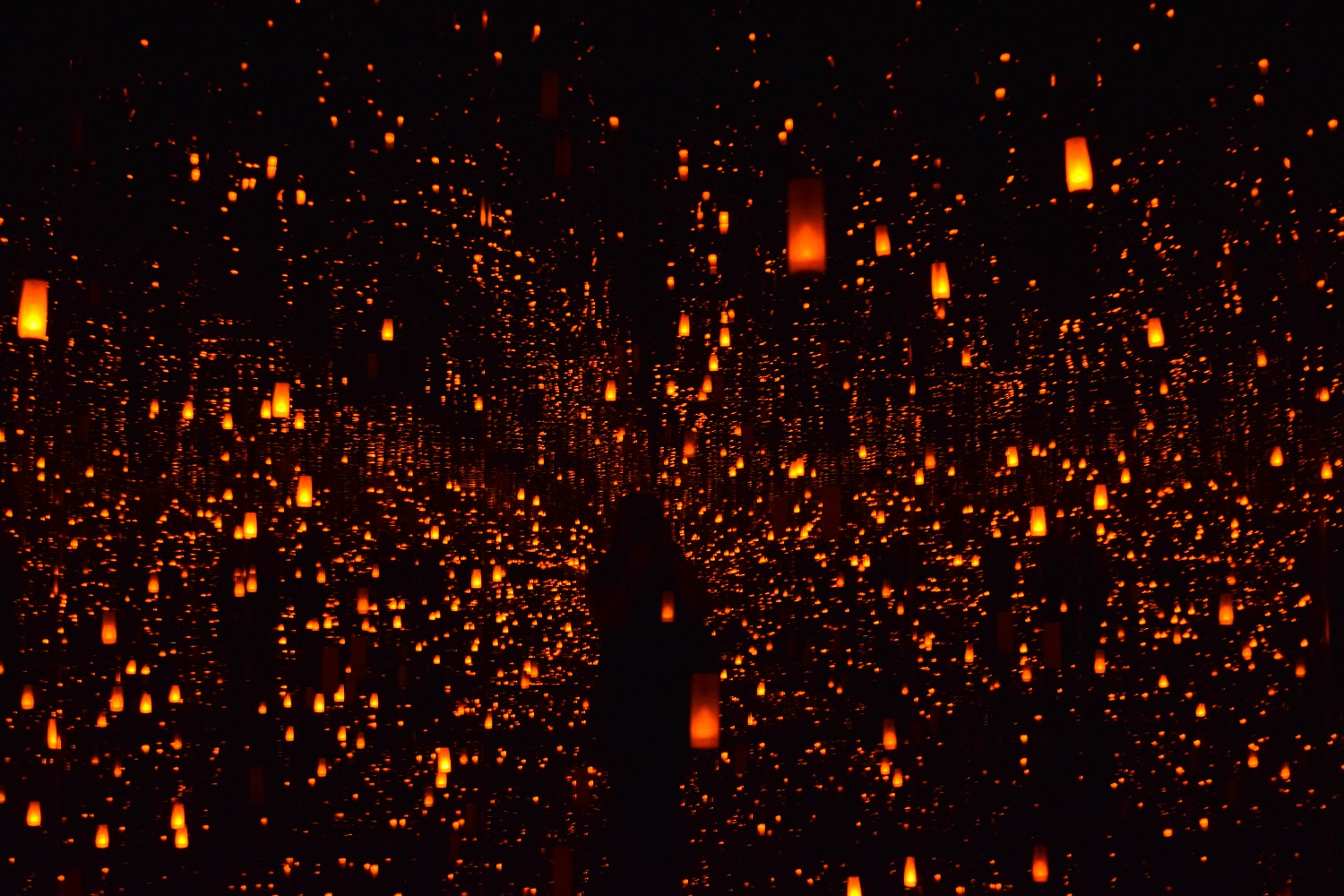 Aftermath of Obliteration of Eternity by Yayoi Kusama