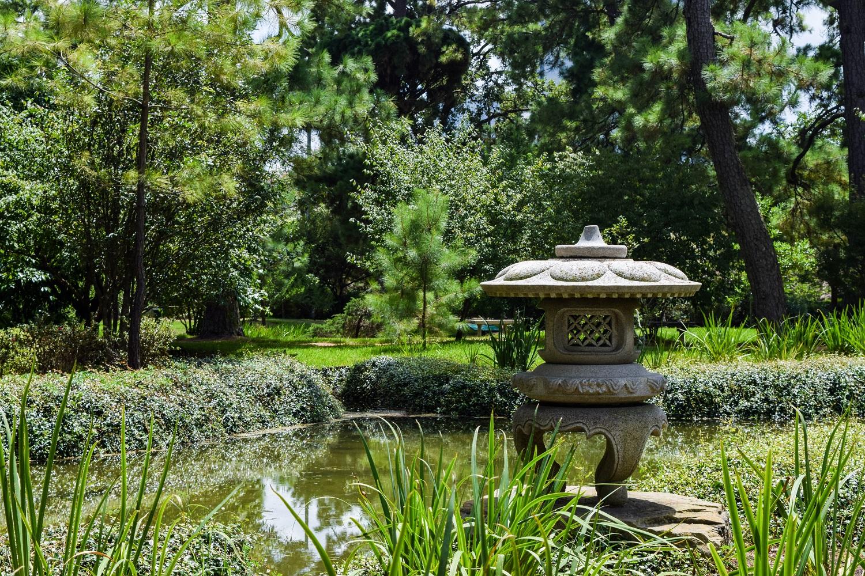 Japanese Garden in Houston's Hermann Park