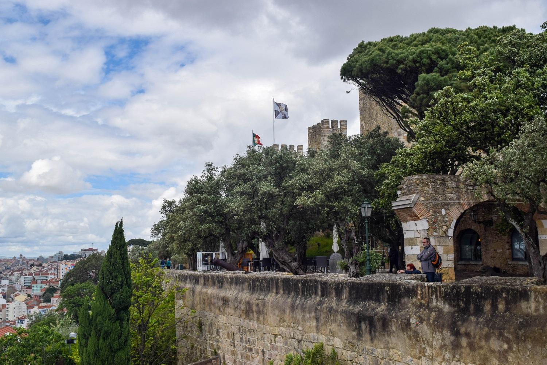 Castelo de Sao Jorge Walls