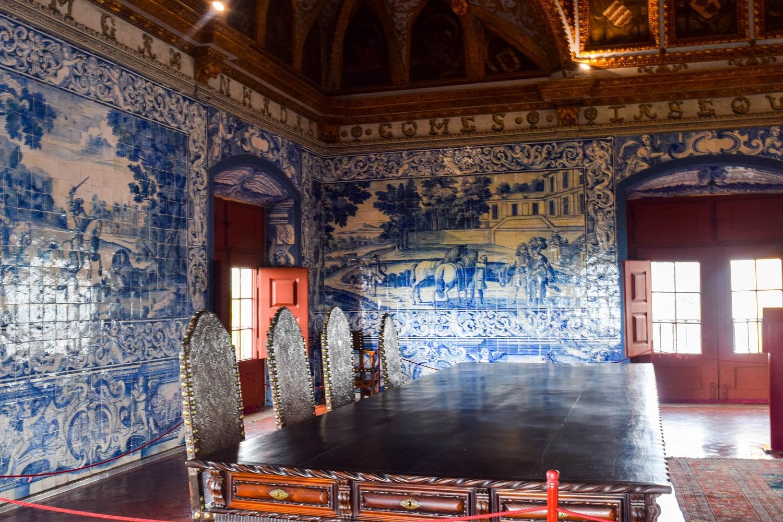 Blue Tile Room