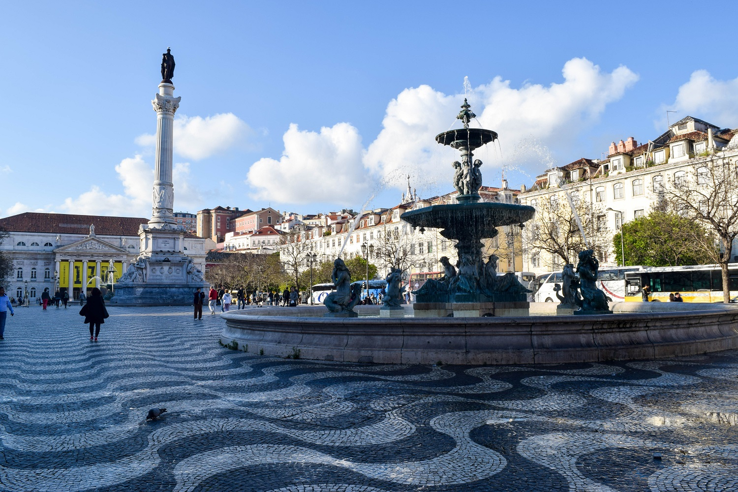 Praca do Rossio late afternoon