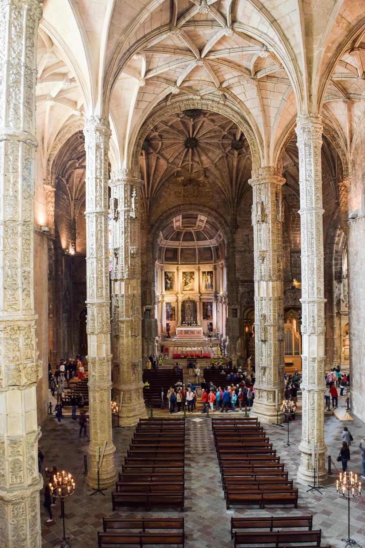 Jeronimos Monastery from the Choir Loft