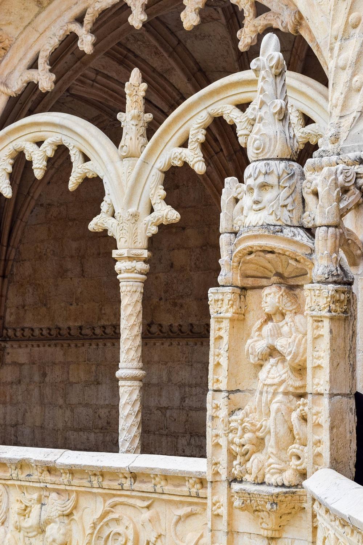 Jeronimos Monastery Courtyard Detail