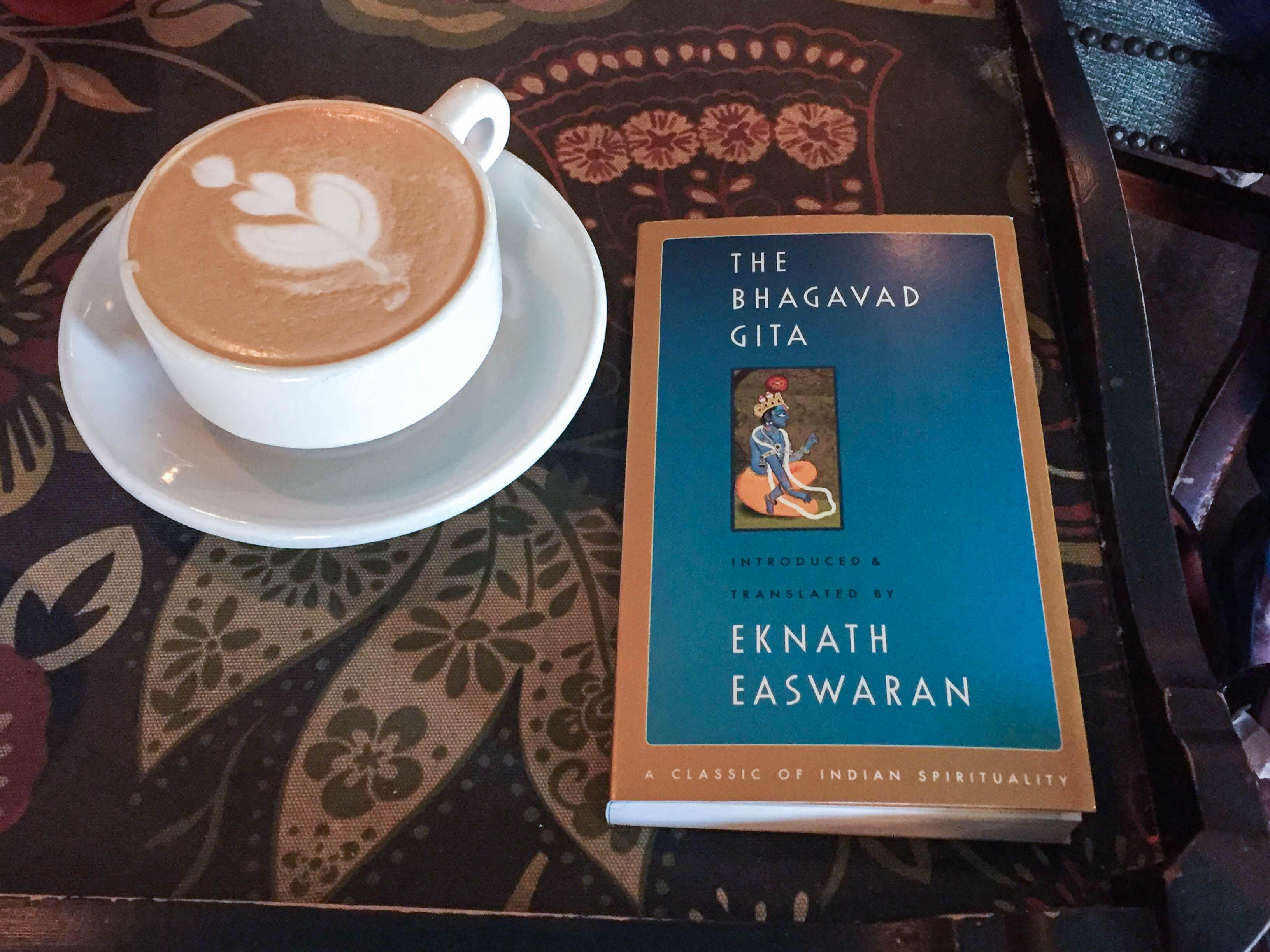 Coffee and The Bhagavad Gita